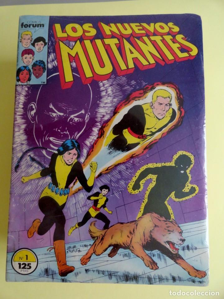 NUEVOS MUTANTES FORUM. COLECCIÓN COMPLETA 65 NÚMEROS + 4 EXTRAS. PLANETA AGOSTINI. 1986-1992 (Tebeos y Comics - Forum - Nuevos Mutantes)