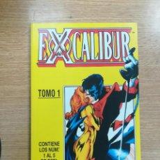 Cómics: EXCALIBUR VOL 2 RETAPADO #1 (NUMEROS 1 A 5). Lote 135842542