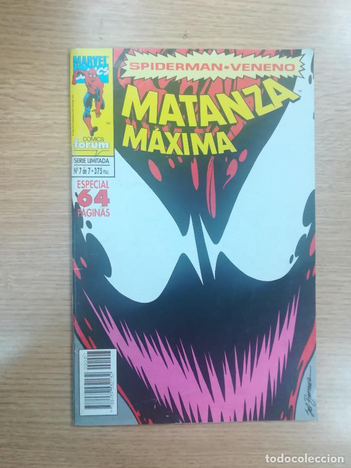 SPIDERMAN VENENO MATANZA MAXIMA #7 (Tebeos y Comics - Forum - Spiderman)