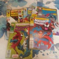 Cómics: SPIDERMAN MATANZA MAXIMA 1 AL 7 COMPLETA. Lote 140878542