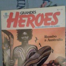Cómics: GRANDES HEROES: Nº 13: RUMBO A AUSTRALIA: BATTAGLIA-TOPPI: PLANETA. Lote 136084982