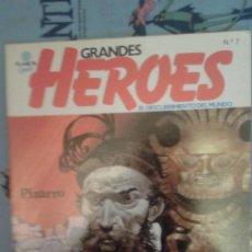 Cómics: GRANDES HEROES: PIZARRO: TOPPI: PLANETA. Lote 136084998