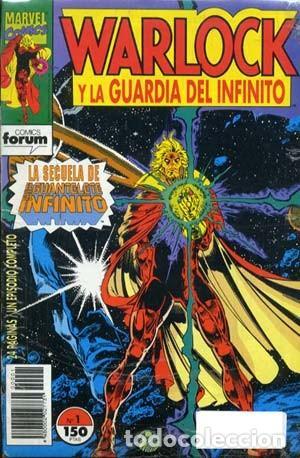 WARLOCK GUARDIAN DEL INFINITO - FORUM 1993/1994 - COMPLETA 17 NUMEROS (Tebeos y Comics - Forum - Otros Forum)