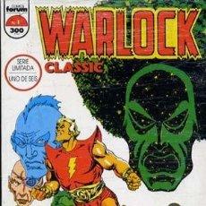 Cómics: WARLOCK CLASSIC - FORUM 1993 - COMPLETA 6 NUMEROS. Lote 136150374