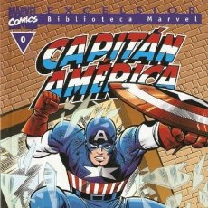 Cómics: BIBLIOTECA CAPITAN AMERICA Nº 0 - FORUM - COMO NUEVO. Lote 138003086
