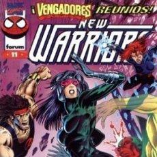 Comics: THE NEW WARRIORS VOL. 3 Nº 11 - FORUM - BUEN ESTADO. Lote 136320478