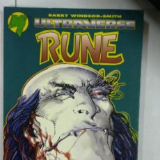Cómics: RUNE - ULTRAVERSE - POR BARRY WINDSOR-SMITH - WORLD COMICS. Lote 136392206