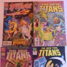Cómics: 3 COMICS THE NEW TEEN TITANS Y 1 COMIC TEAM TITANS (EN INGLES). Lote 136424054
