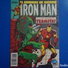 Comics : CÓMIC DE IRON MAN AÑO 1988 Nº 38 DE COMICS FORUM LOTE 4 BIS. Lote 136435314