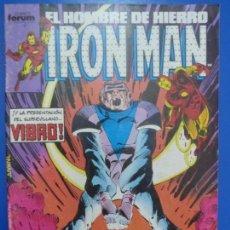 Cómics: CÓMIC DE IRON MAN AÑO 1988 Nº 36 DE COMICS FORUM LOTE 6 D. Lote 136451610