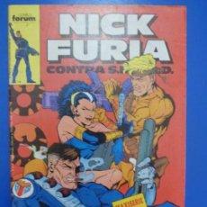 Cómics: CÓMIC DE NICK FURIA CONTRA SHIELD AÑO 1989 Nº 5 DE COMICS FORUM LOTE 6 F. Lote 136452330