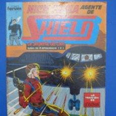Cómics: CÓMIC DE NICK FURIA AGENTE DE S.H.I.E.L.D. AÑO 1990 Nº 7 DE COMICS FORUM LOTE 5 F. Lote 136459126