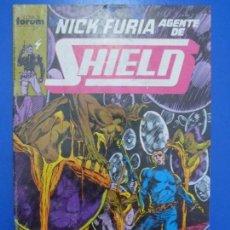 Comics : CÓMIC DE NICK FURIA AGENTE DE S.H.I.E.L.D. AÑO 1990 Nº 5 DE COMICS FORUM LOTE 7 BIS. Lote 136459186