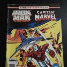 Comics: IRON MAN Y CAPITÁN MARVEL N 46. Lote 136524482