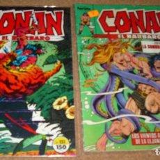 Cómics: CONAN EL BARBARO, FORUM Nº 858 Y 151 . MUY BUEN ESTADO LEER. Lote 136633498