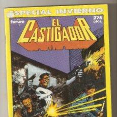Cómics: EL CASTIGADOR ESPECIAL INVIERNO 1990 - CORPORACION DE ASESINOS - FORUM -. Lote 136648450