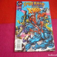 Cómics: SPIDERMAN TEAM UP Nº 1 CON LOS X MEN ( MARK WAID ) ¡MUY BUEN ESTADO! MARVEL FORUM PATRULLA X. Lote 136748022