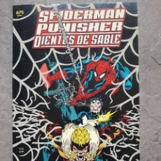Fumetti: SPIDERMAN_PUNISHER_DIENTES DE SABLE_GENES DE DISEÑO. Lote 137147774