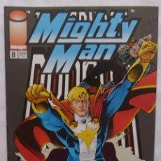 Cómics: COMIC THE SAVAGE DRAGON –MIGHTYMAN,NUMERO 8,IMAGE,PRIMER VILLANO. Lote 137261390