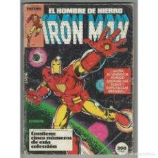 Cómics: IRON MAN VOLUMEN 1 FORUM. RETAPADO CON LOS NUMEROS 1 A 4 FORUM.. Lote 137267854