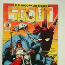 Cómics: SCOUT Nº 1 (ECLIPSE COMICS) FORUM. Lote 137297634