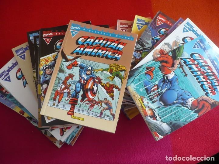 CAPITAN AMERICA BIBLIOTECA MARVEL 0 AL 20 ¡COMPLETA! ( KIRBY ) ¡MUY BUEN ESTADO! FORUM (Tebeos y Comics - Forum - Capitán América)