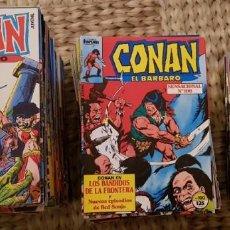 Cómics: CONAN EL BARBARO. COLECCIÓN TOTAL DE 218 COMICS. COMICS FORUM 1983. Lote 137315790