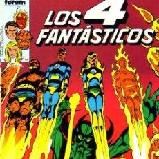 Cómics: LOS CUATRO FANTASTICOS - FORUM VOL 1 - ETAPA COMPLETA DE JOHN BYRNE (18-72 Y 74). Lote 137405818