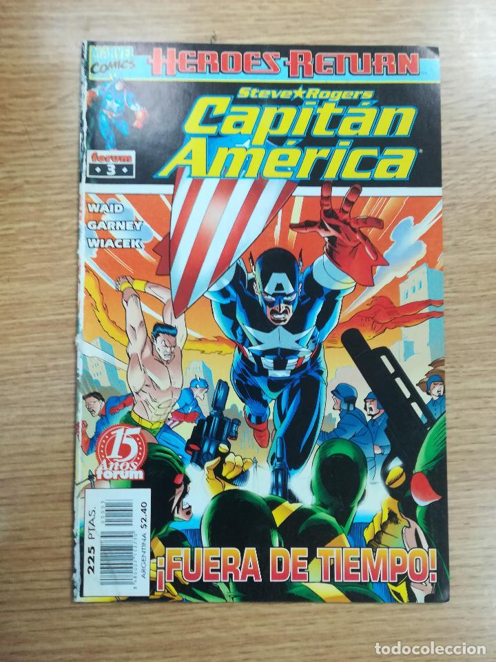 CAPITAN AMERICA VOL 4 #3 (Tebeos y Comics - Forum - Capitán América)