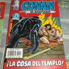 Cómics: LA COSA DEL TEMPLO CONAN EL BARBARO 18 ROY THOMAS FORUM COLOR 1999 FANTASIA HEROICA . Lote 137676202