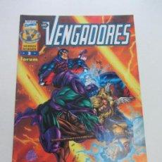 Cómics: LOS VENGADORES FORUM VOL.3 HEROES REBORN Nº 3 FORUM CS148. Lote 137750646