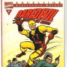 Comics : DAREDEVIL.Nº 1. EXCELSIOR. BIBLIOTECA MARVEL. FORUM. (ST/C2). Lote 137849490