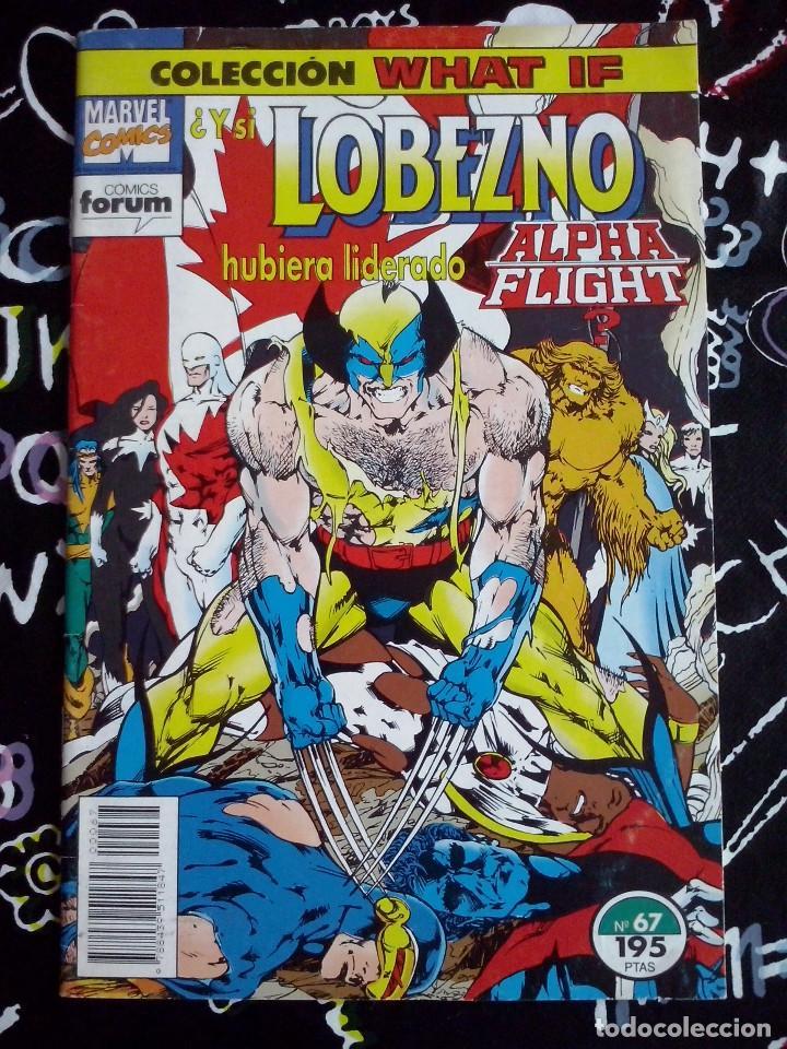 FORUM - WHAT IF NUM. 67 ( LOBEZNO ). MUY BUEN ESTADO Y DIFICIL DE CONSEGUIR (Tebeos y Comics - Forum - Patrulla X)