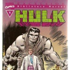 Cómics: HULK. Nº 1. EXCELSIOR. BIBLIOTECA MARVEL. FORUM. (ST/C2). Lote 137885654