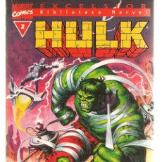 Cómics: HULK. Nº 2. EXCELSIOR. BIBLIOTECA MARVEL. FORUM. (ST/C2). Lote 137885766