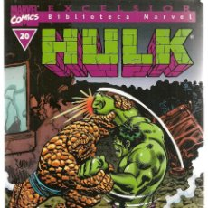 Cómics: HULK. Nº 20. EXCELSIOR. BIBLIOTECA MARVEL. FORUM. (ST/C2). Lote 137886046