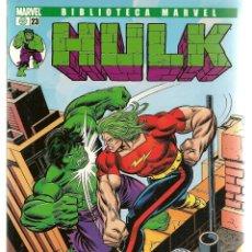 Cómics: HULK. Nº 23. EXCELSIOR. BIBLIOTECA MARVEL. FORUM. (ST/C2). Lote 137886242