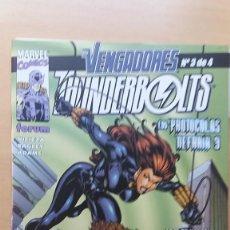 Cómics: VENGADORES / THUNDERBOLTS Nº 3 DE 4. LOS PROTOCOLOS NEFARIA 3. NICIEZA Y BAGLEY. PERFECTO ESTADO. Lote 137905222
