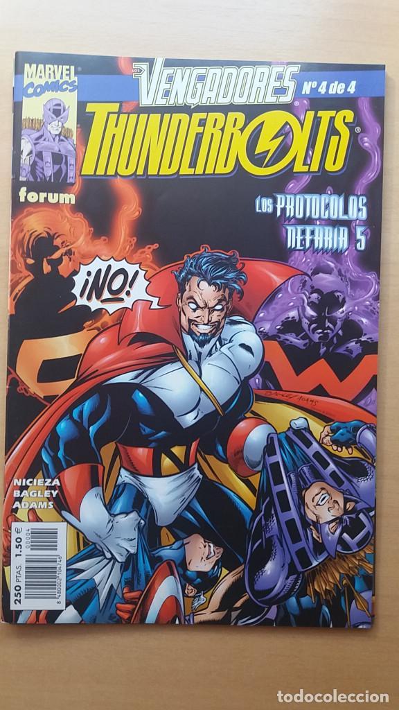 VENGADORES / THUNDERBOLTS Nº 4 DE 4. LOS PROTOCOLOS NEFARIA 5. NICIEZA Y BAGLEY. PERFECTO ESTADO (Tebeos y Comics - Forum - Vengadores)
