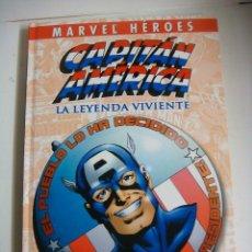 Cómics: COMICS DE CAPITAN AMERICA LA LEYENDA VIVIENTE DE MARVEL HEROES (#). Lote 137936146