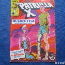 Cómics: LA PATRULLA X N.º 37 DE CHRIS CLAREMONT VOLUMEN 1 FORUM 1987 VOL. I - INCLUYE PÓSTER N.º 21. Lote 137971338