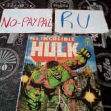 Cómics: EL INCREÍBLE HULK FUTURO IMPERFECTO FORUM LIBRO 1 DE 2 VER FOTOS NECESITA REPARACIÓN. Lote 137976400