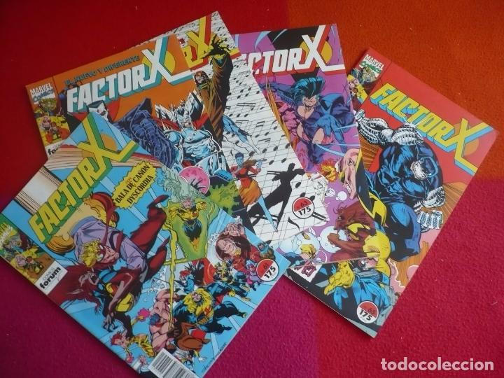 FACTOR X VOL. 1 NºS 61, 62, 63, 64 Y 65 ( PETER DAVID ) ¡MUY BUEN ESTADO! MARVEL FORUM (Tebeos y Comics - Forum - Factor X)