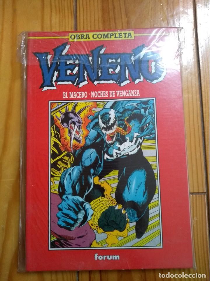 VENENO - EL MACERO + NOCHES DE VENGANZA - IMPECABLE D1 (Tebeos y Comics - Forum - Spiderman)