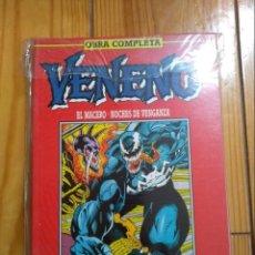 Cómics: VENENO - EL MACERO + NOCHES DE VENGANZA - IMPECABLE D1. Lote 138103398