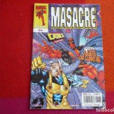 Cómics: MASACRE VOL. 3 Nº 23 ( JOE KELLY ) ¡MUY BUEN ESTADO! MARVEL FORUM. Lote 138112338