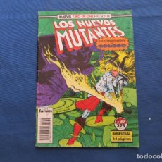 Cómics: MARVEL / LOS NUEVOS MUTANTES N.º 49 - VOLUMEN 1 FORUM 1990 - MARVEL TWO-IN-ONE CON COLOSO. Lote 138119650