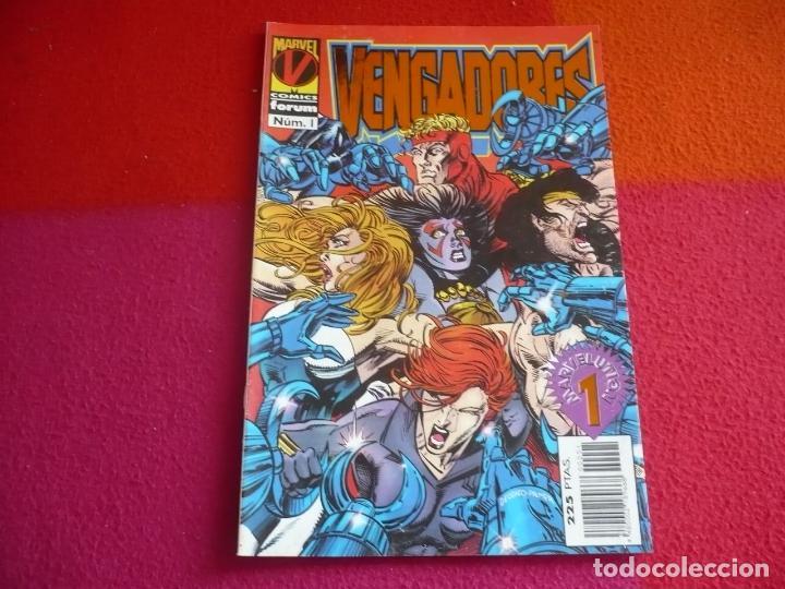 LOS VENGADORES VOL. 2 Nº 1 ( TERRY KAVANAGH MIKE DEODATO JR. ) ¡BUEN ESTADO! MARVEL FORUM 1996 (Tebeos y Comics - Forum - Vengadores)