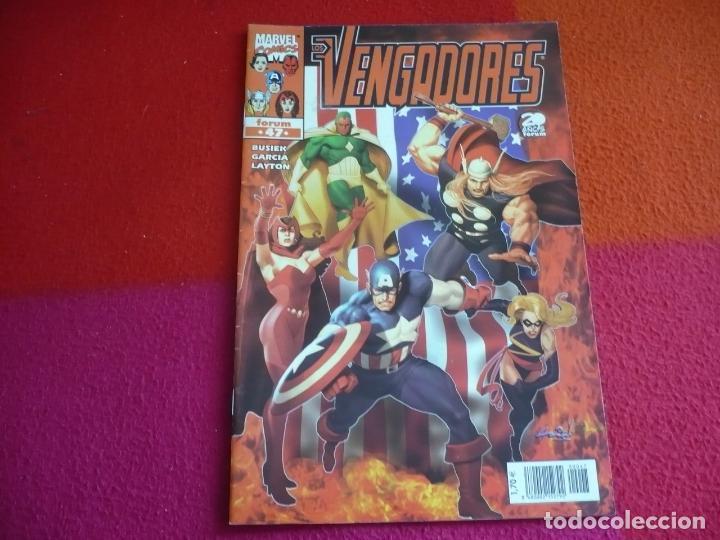 LOS VENGADORES VOL. 3 Nº 47 ( BUSIEK ) ¡MUY BUEN ESTADO! MARVEL FORUM (Tebeos y Comics - Forum - Vengadores)