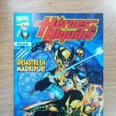 Cómics: HEROES DE ALQUILER #19. Lote 138160304
